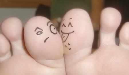 jari tangan lucu dan kreatif