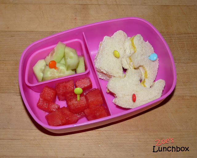 Sassy Kindergarten lunch