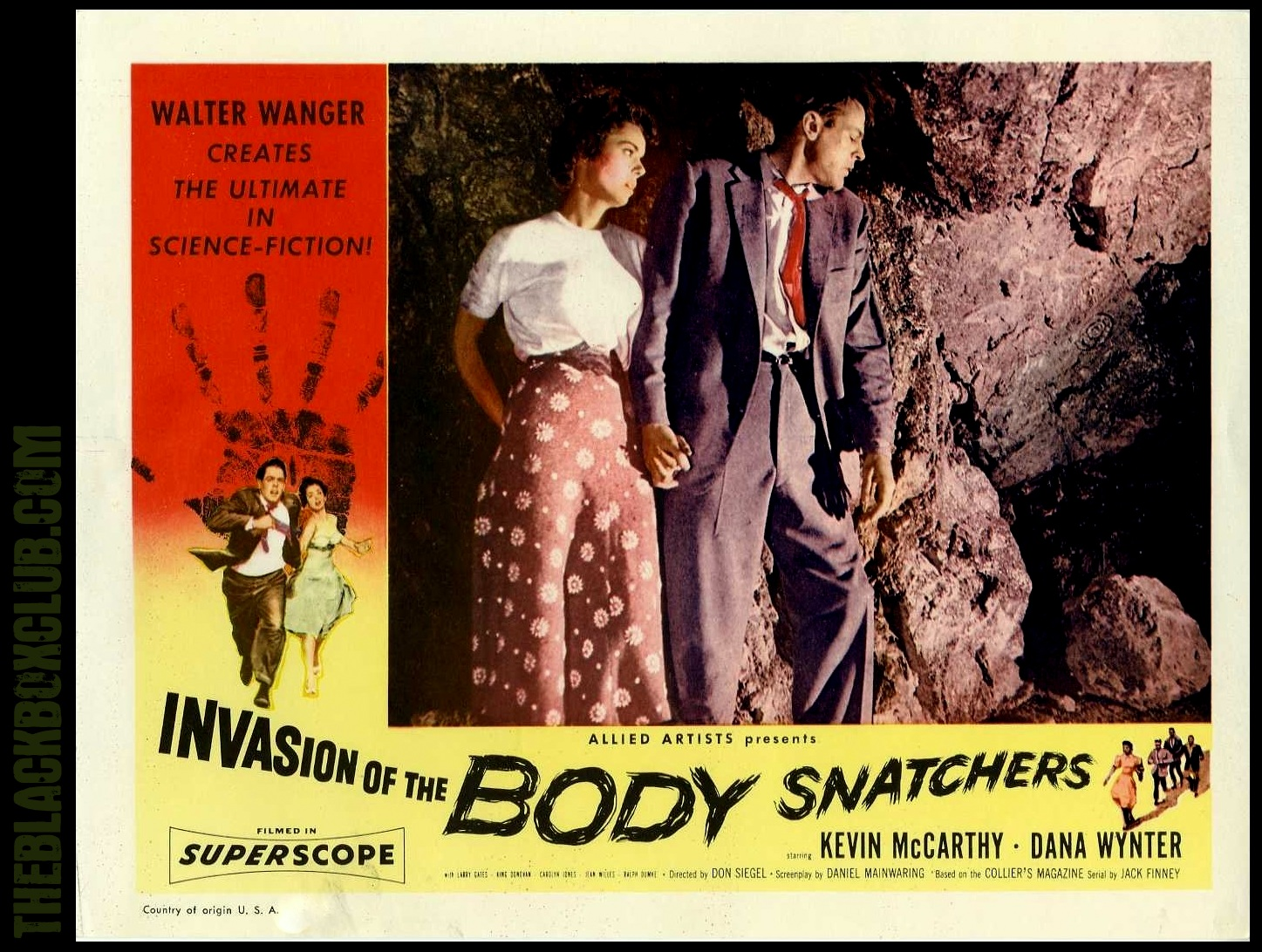 mccarthyism in the text seeing red the stigma and film invasion of the body snatchers View the latest invasion of the body snatchers movie posters stills red carpet then you'll see why the film scared studio executives so much that.