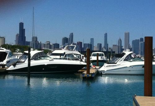 Progressive Insurance Chicago In-Water Boat Show 2012