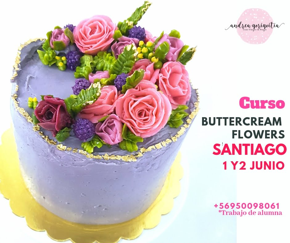CURSO BUTTERCREAM FLOWERS