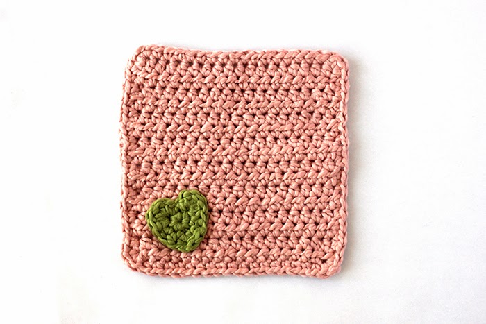 organic washcloth free crochet pattern