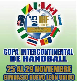 Equipos ideales de ambas ramas del IHF Trophy Intercontinental   Mundo Handball