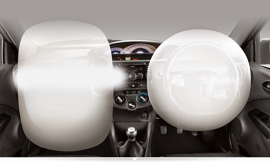 Dual SRS Airbags etios valco 2015