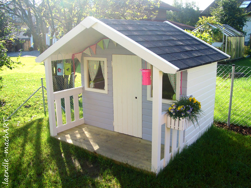 Spielhaus Holz Garten Selber Bauen ~   , DIY, selber machen, gestalten, selber bauen, Anleitung, Tipps