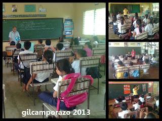 Teachers teaching regular lessons
