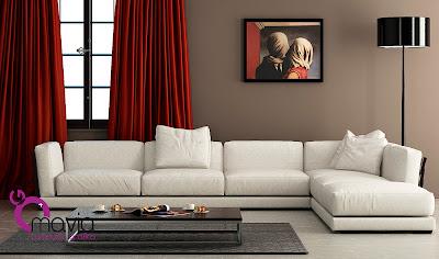 Arredamento di interni interni 3d divani angolari for Modelli 3d arredamento