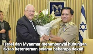 AKTIVIS ISRAEL GESA HENTI BEKALAN KETENTERAAN KE MYANMAR