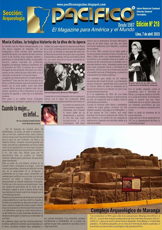 Revista Pacífico Nº 218 Arqueología