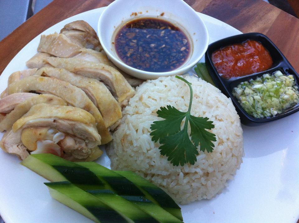 Simply June: Hainanese Chicken Rice