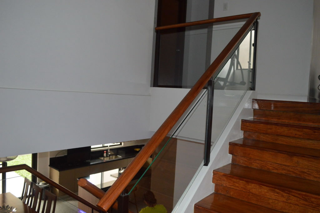 glass railings philippines staircase glass