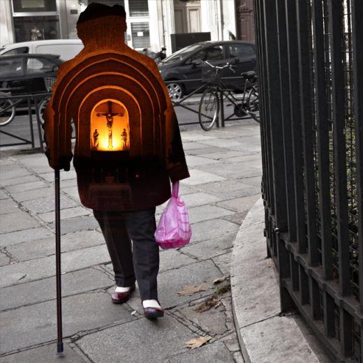 Nacho Ormaechea fotografia colagens digitais pessoas como portais pensamentos histórias desejos