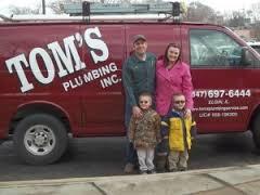 Tom's Plumbing Inc.
