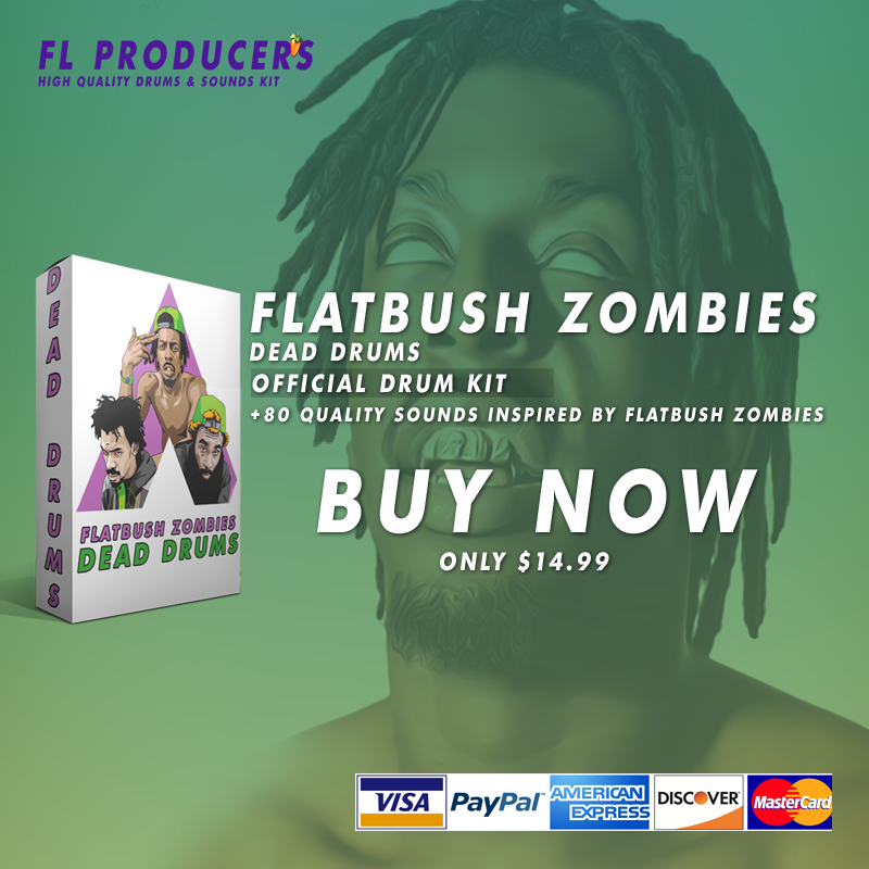 Flatbush Zombies - Dead Drums