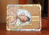 "Рибка у топі  блогу ""I love scrap"""