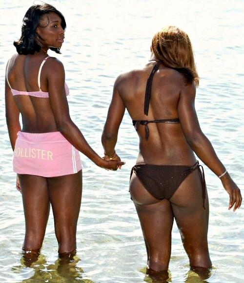 Idea and Serena venus williams bikini with you