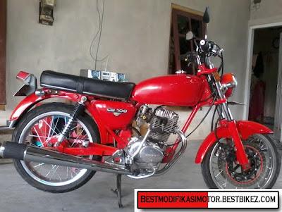 ... Honda CB 100 1974 | Mesin Tiger Yogyakarta - Gambar Modifikasi Motor