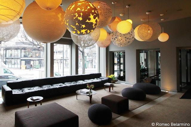 Nobis Hotel Lobby Hotels in Stockholm Sweden