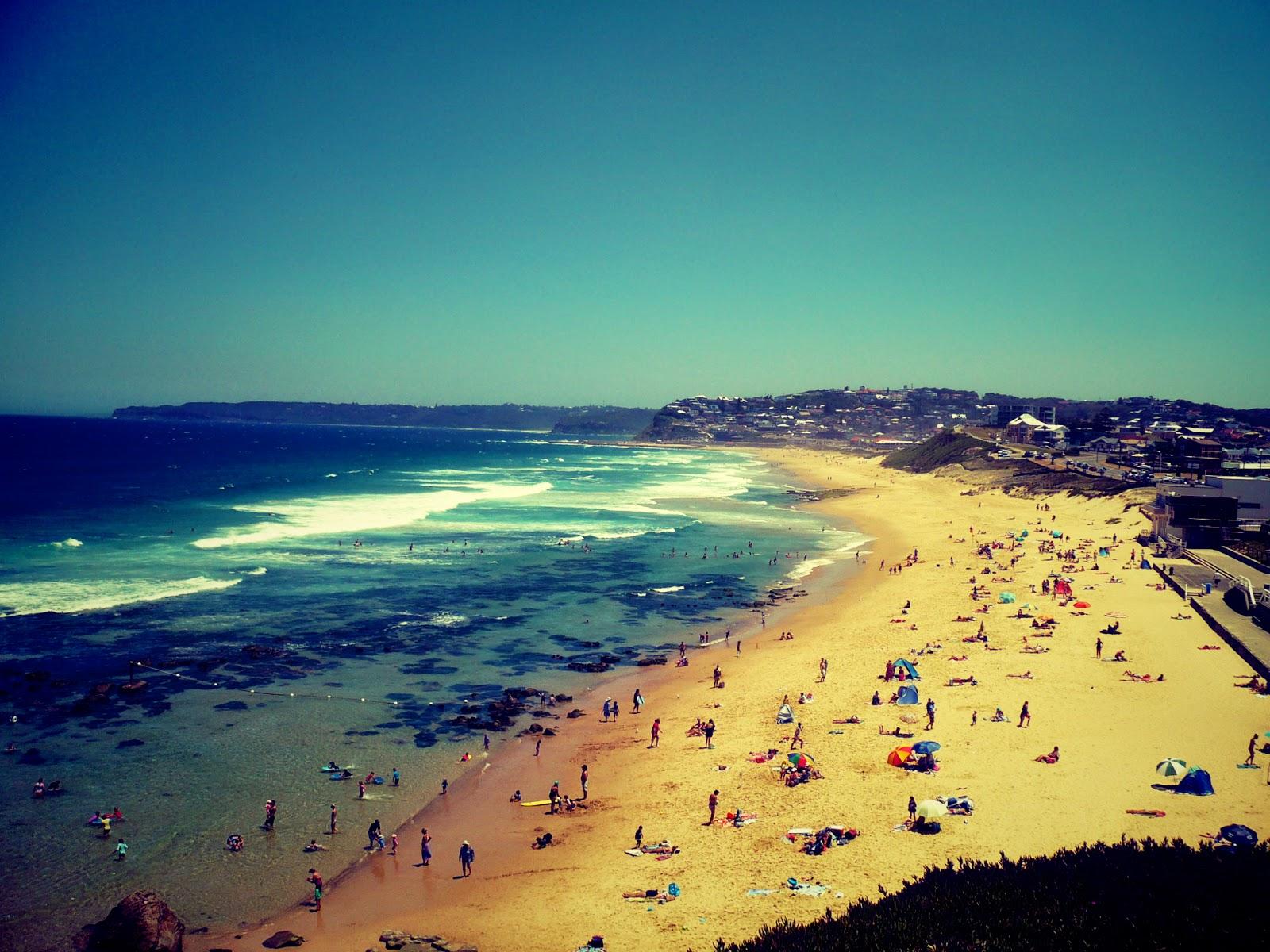 Newcastle Beach Australia