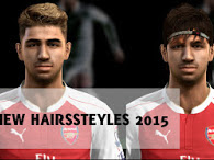 PES 2013 Hair Styles Pack update September 2015