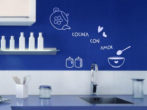 C mo decorar la cocina con poco dinero decoguia tu for Como renovar mi cocina pequena