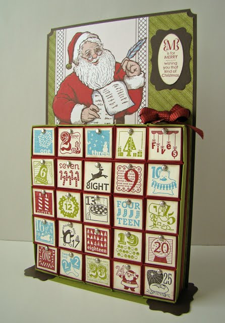 qbee 39 s quest inch box advent calendar tutorial