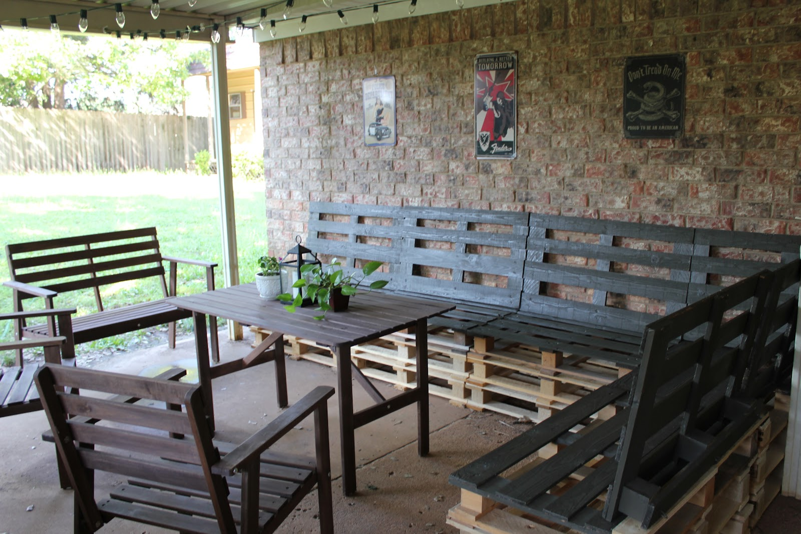 Outdoor Patio Furniture Made From Pallets diy outdoor patio furniture from pallets