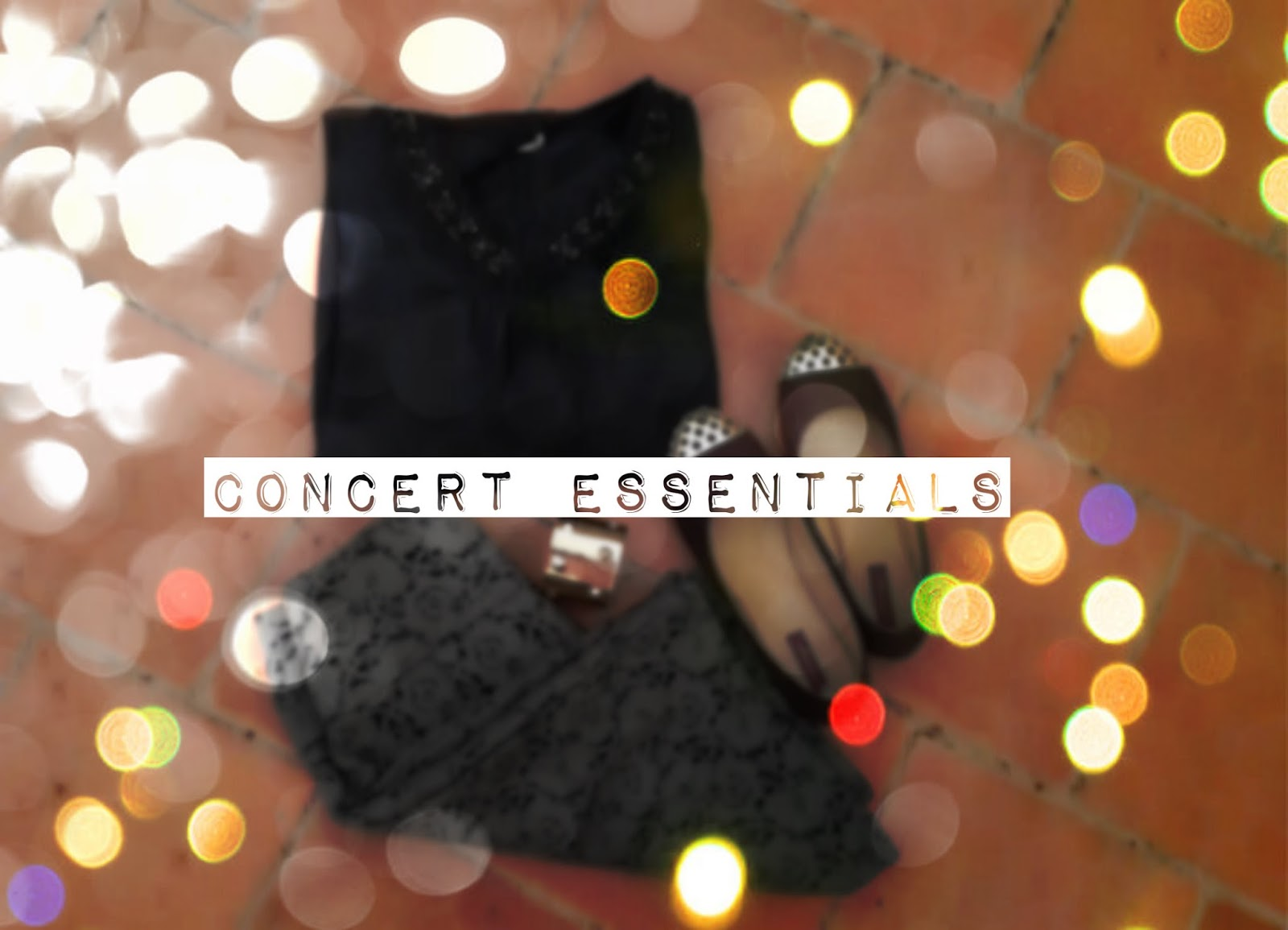 Concert outfit tips