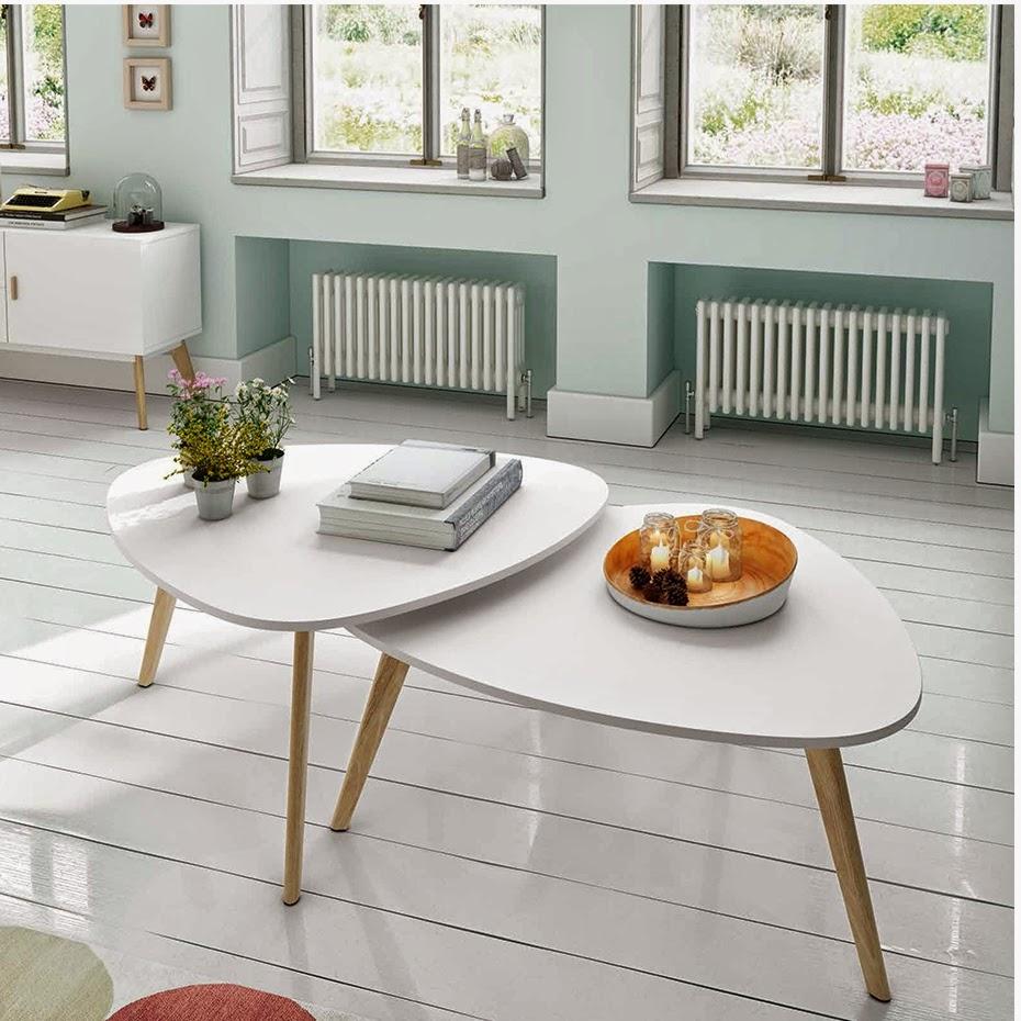 Muebles de sal n mesas de centro de estilo escandinavo - Mesa de centro de salon ...