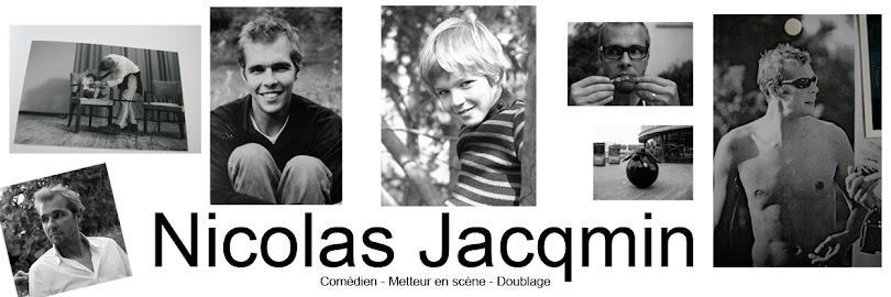 Nicolas Jacqmin comédien