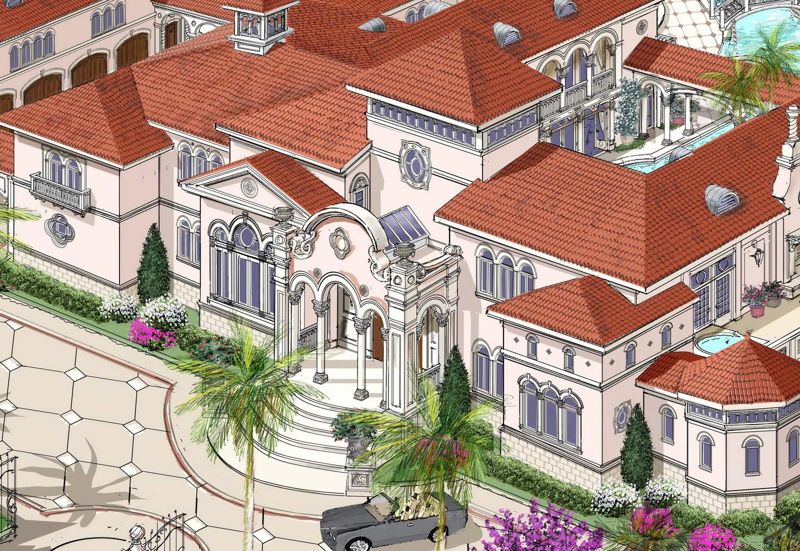 homes amp mansions villa designed for a mediterranean lifestyle