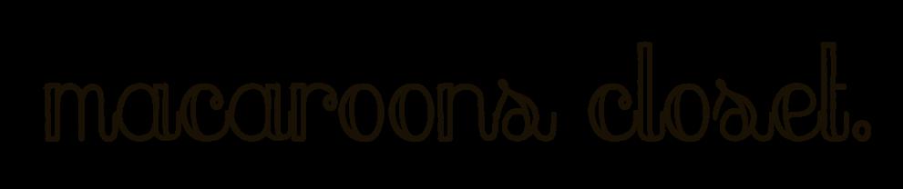 macaroons closet