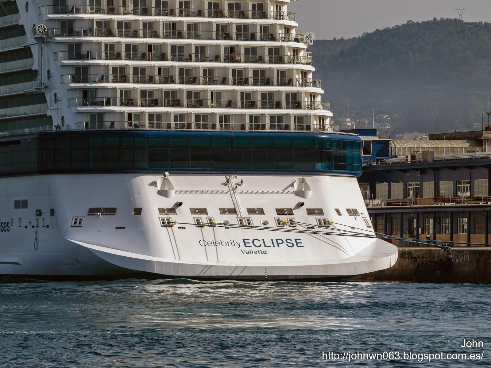 fotos de barcos, imagenes de barcos, celebrity eclipse, cruceros, vigo