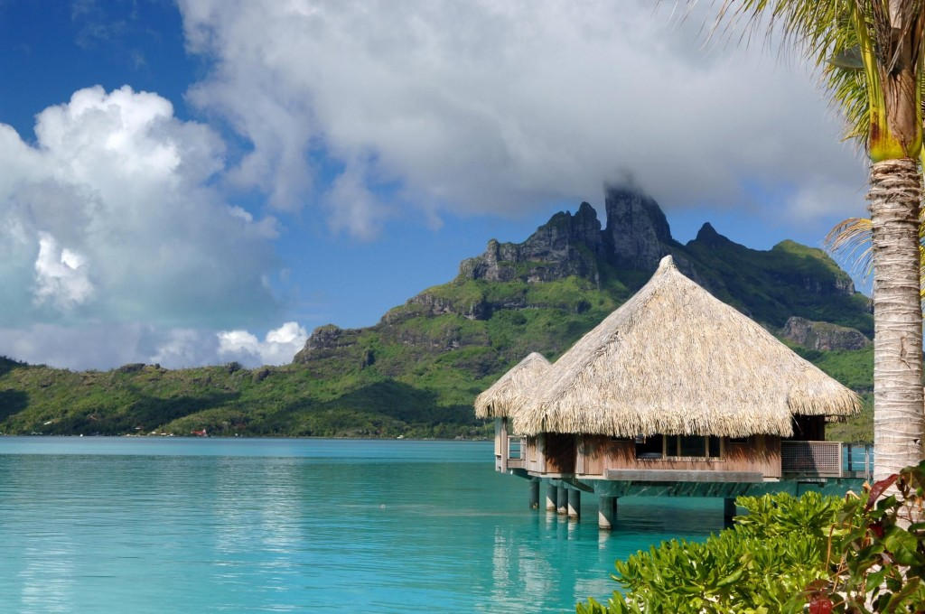 Passion for luxury st regis bora bora resort Overwater bungalows fiji