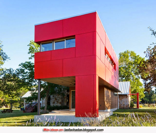 Colores para fachadas de casas feng shui fachadas de for Colores modernos para exteriores