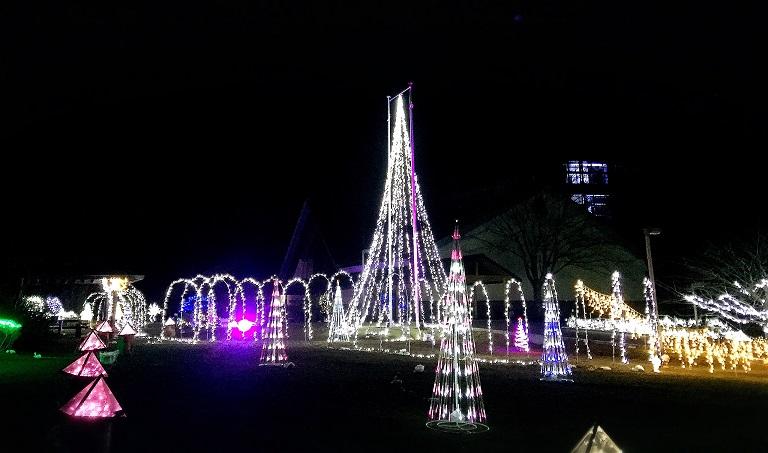 Gonohe Town's Illumination Map 五戸町 イルミネーション 平成27年度