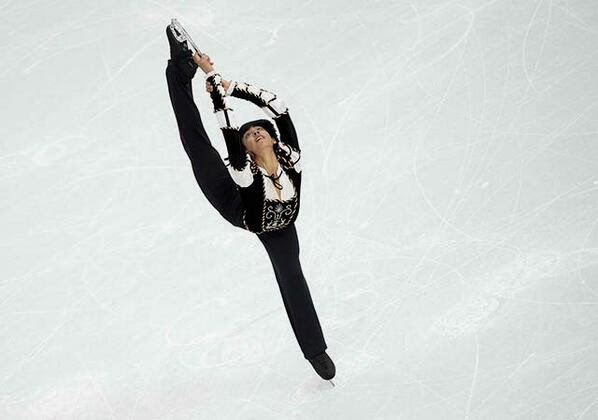 Michael Martinez figure skating performance in Sochi Winter Olympics