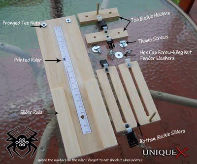 Paracord Bracelet Jig8