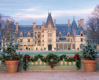 Holidays at the Biltmore Estate in Asheville, N.C.