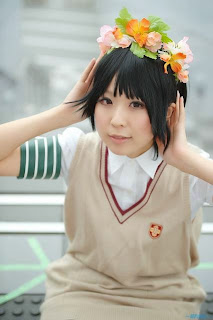 Makiron Cosplay as Uiharu Kazari from Toaru Majutsu no Index