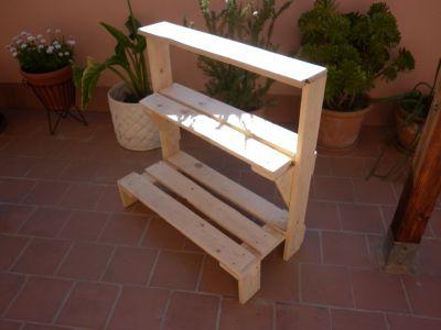 Los muebles de exterior de palets de malen for Muebles para plantas