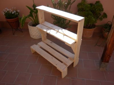 Los muebles de exterior de palets de malen - Comprar muebles de palets ...