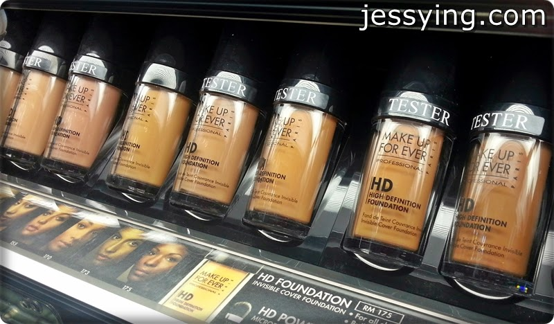 Jessying - Malaysia Beauty Blog - Skin Care reviews, Make Up reviews and latest beauty news in town!: Introduction of Make Up For Ever HD Cosmetic Range