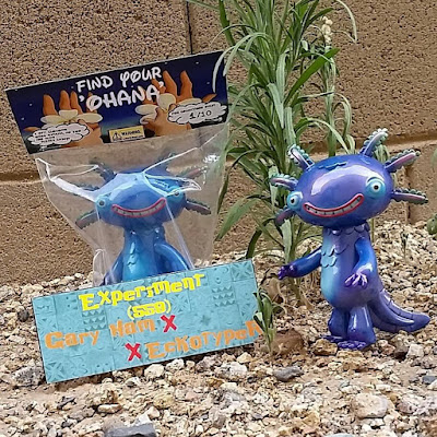 "San Diego Comic-Con 2015 Exclusive ""Find Your Ohana"" Wooper Looper Vinyl Figure by Gary Ham x Eckotyper"