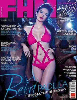 FHM March 2012 Bela Padilla
