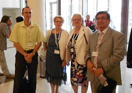 Viktor Radun Teon sa Zoricom Stablovic Bulajic i Momcilom Taijanom, Adizes, Madlenianum, jun 2012