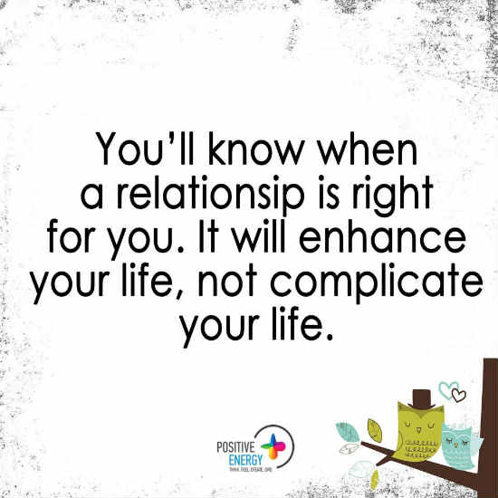 are you in the right relationship
