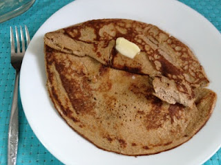 Low Carb Cream Cheese Pancakes - 2 carbs