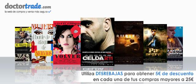 Imagen de la promoción sobre los Goya de Doctortrade