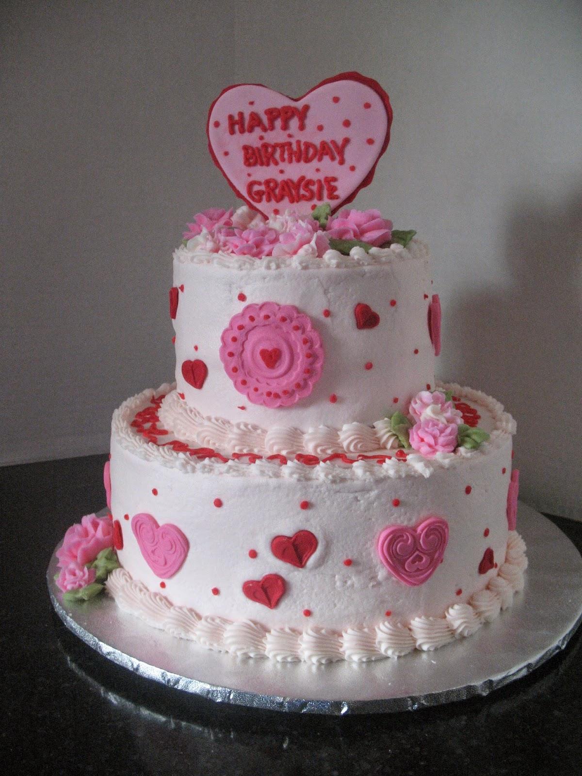Graysies Birthday Cake Cakes By Mary Ann
